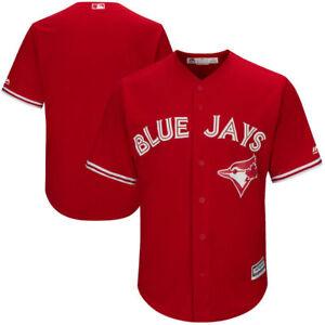 1ba49e21b Toronto Blue Jays Cool Base Replica Alternate Red Jersey by Majestic ...