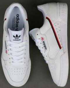 f546f7d4d8a Image is loading Adidas-Originals-Continental-80-039-s-White-Red-