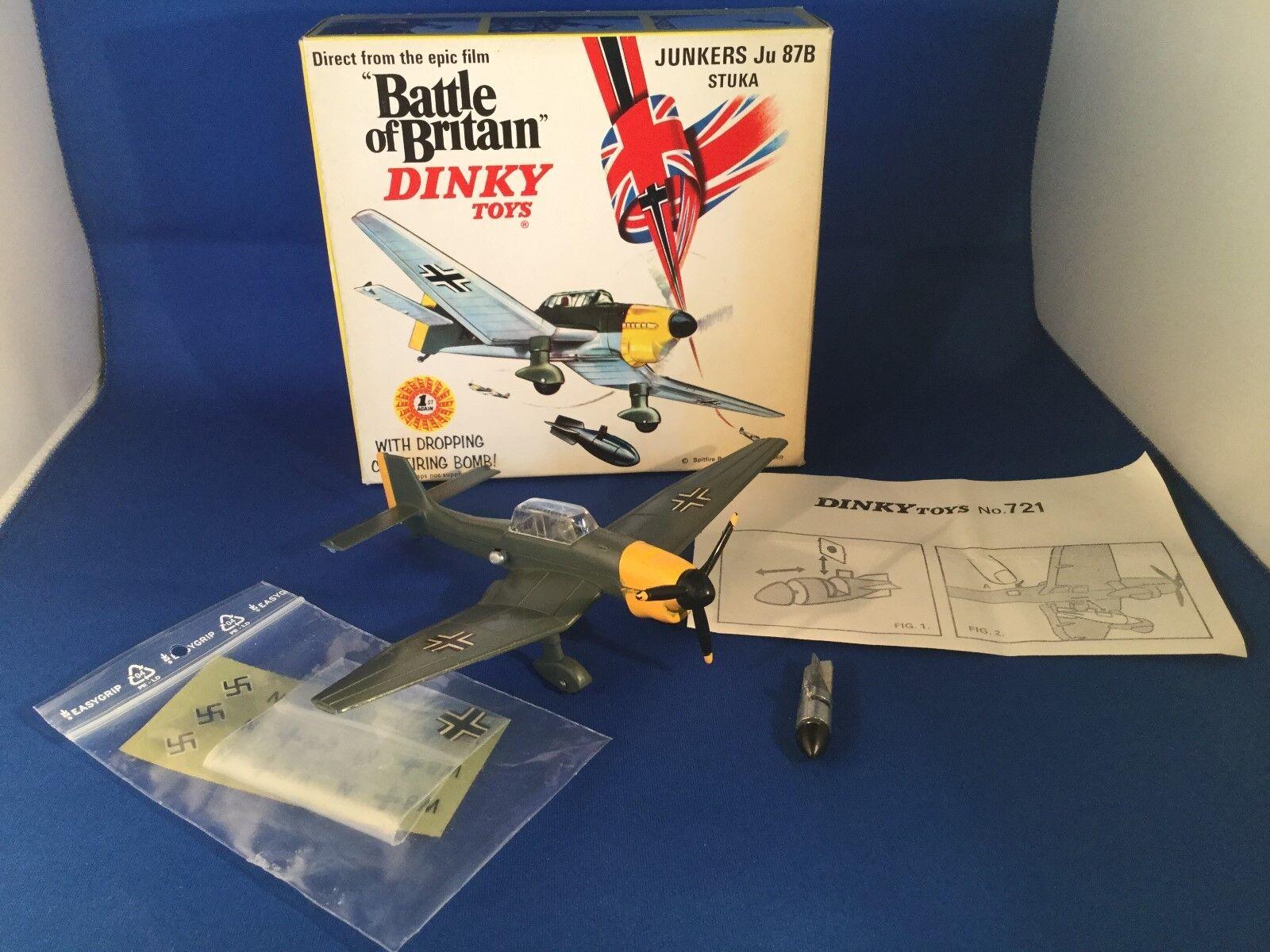 Dinky Toys Battle of Britain no. 721 Junkers Ju 87B Stuka ovp