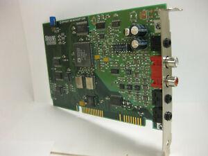 ISA sound card Microsoft Windows Sound System (WSS) W/ RCA 3.5mm audio out 34463