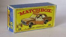 Repro Box Matchbox 1:75 Nr.25 Ford Cortina