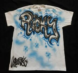 031b0f2e8 Urbanist Custom name kids Streetdance, Hip Hop T-shirt Airbrushed ...