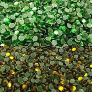 2-COLOUR-2-5mm-Hotfix-Iron-on-Faceted-Gems-Buy-1500-3000-10g