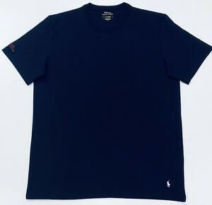 Polo-Ralph-Lauren-Crew-Neck-T-Shirt-In-Navy-Blue-Size-L