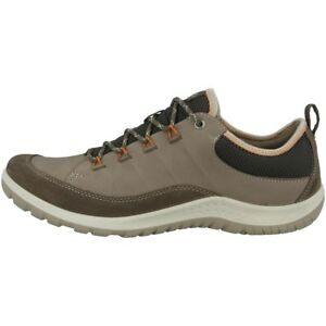 Ecco-Aspina-Ladies-Shoes-Women-039-s-Outdoor-low-cut-Trainers-Dark-Clay-838503-56610