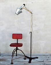 1950-1960 vintage Arzt Lampe,industrial Stehlampe, Loftlampe,Bauhaus,Fabriklampe