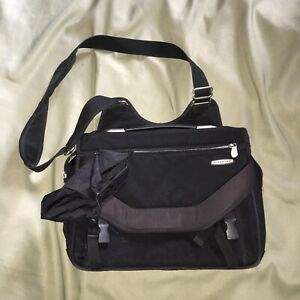 Travelon-Black-Travel-Tote-Bag-Purse-Large-Carry-On-Soft-Brief-Case-Career