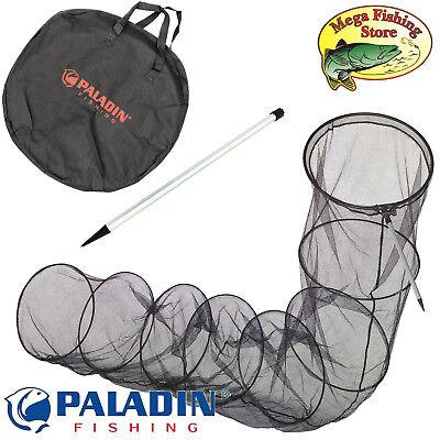 Tasche /& Alu-Stab PALADIN Fishing Setzkescher 3,50m inkl Angel Setz Kescher