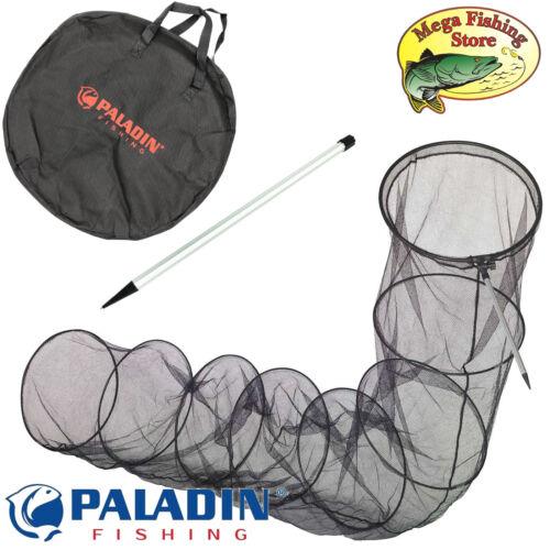 Tasche /& Alu-Stab inkl Angel Setz Kescher PALADIN Fishing Setzkescher 3,50m