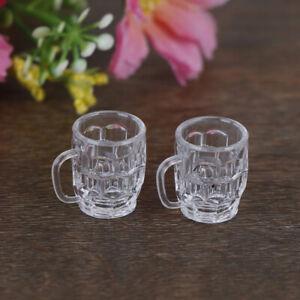 2Pcs-1-12-Dollhouse-mini-resin-wine-glass-simulation-drink-cup-model-toys-yc-YK