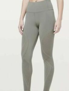 New-Women-039-s-Lululemon-Reveal-Tight-28-034-CBND-Carbon-Dust-118-MSRP-Size-10