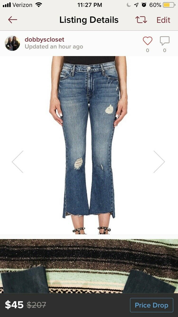 NWT Current elliot jeans Size 25