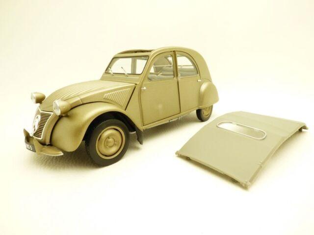 CITROEN 2CV A 1950 gris / bronze 1/18