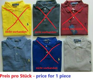 Polo Ralph Lauren-Herren-Polo Shirt-NEU-L-Preis pro Stück- kurzarm