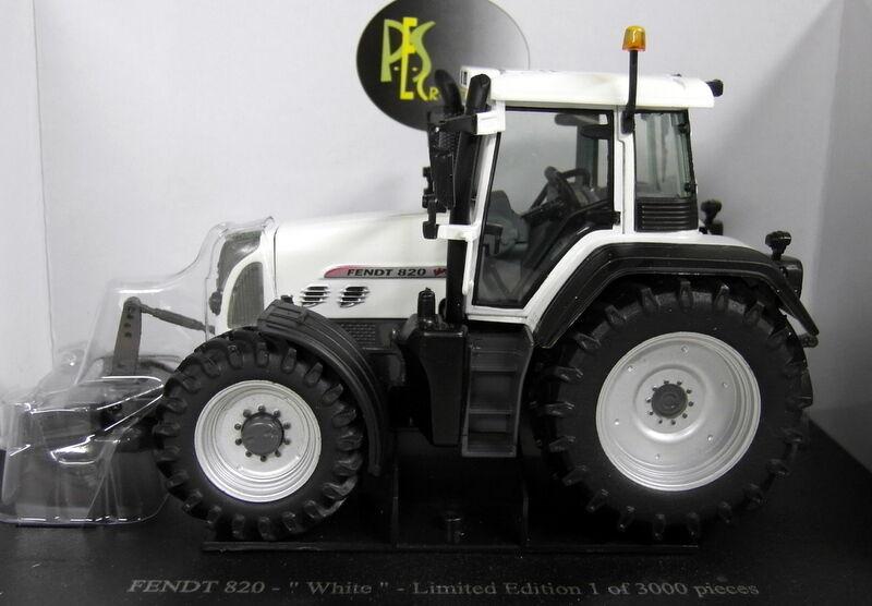 Uh 1 32 escala J4035 Fendt 820 Vario Modelo Diecast Edición biancaa Tractor de Granja