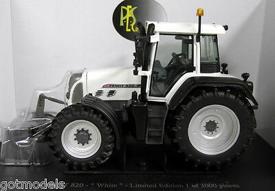 UH 1/32 Scale J4035 Fendt 820 Vario White Edition Diecast model Farm Tractor
