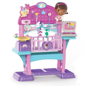 Disney Junior Doc Mcstuffins All In One Baby Nursery Crib