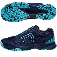 Wilson Kaos Tennis Shoe Trainer Navy Blue ,mint , Various Sizes Available