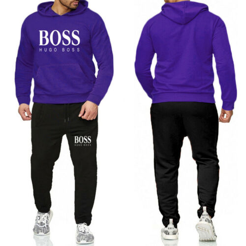 Neu 2 piece set Jogging Anzug Trainingsanzug Sweatshirt Sportanzug Polyanzug