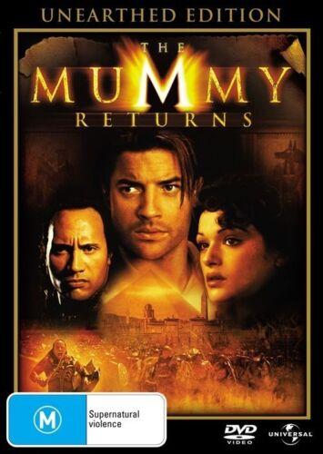 1 of 1 - The Mummy Returns (DVD, 2008) -- Free Postage --