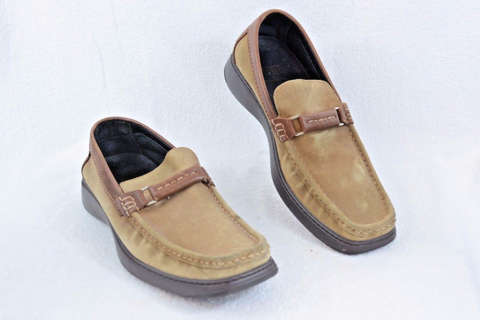 Donald J Pliner Men's MINCH-8335 Tan Suede Horsebit Dress Loafers Sz 12M P102