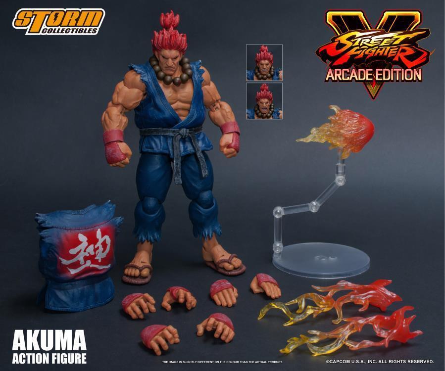 Stm87060  sturm spielzeug street fighter   arcade - ausgabe akuma (nostalgie - kostüm)