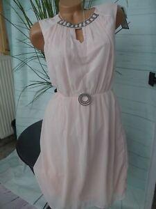 Vero Moda Kleid Chiffonklkeid Eventkleid Cocktailkleid Gr ...
