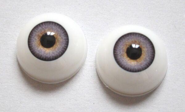 Yeux Gris Bleu20mm R65 Poupée Moderne/vintage-bébé Réaliste Reborn Bjd Doll Eyes Elaborato Finemente