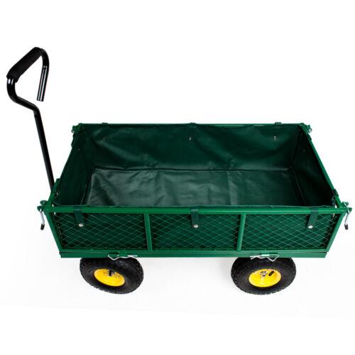 bache chariot de jardin chariot de transport à main remorque max 350 kg