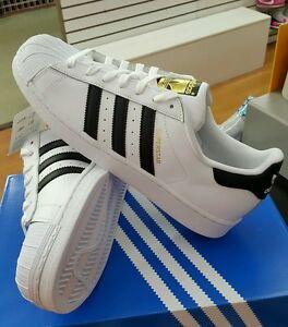 adidas superstar bianco / c77124 uomini ci 888168401729 sz