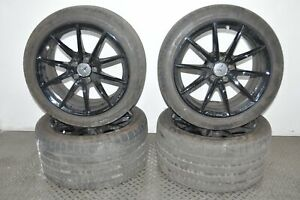 MERCEDES AMG C63 S C205 2017 RHD ALLOY WHEELS 9JX18 10.5JX19 WITH TYRES