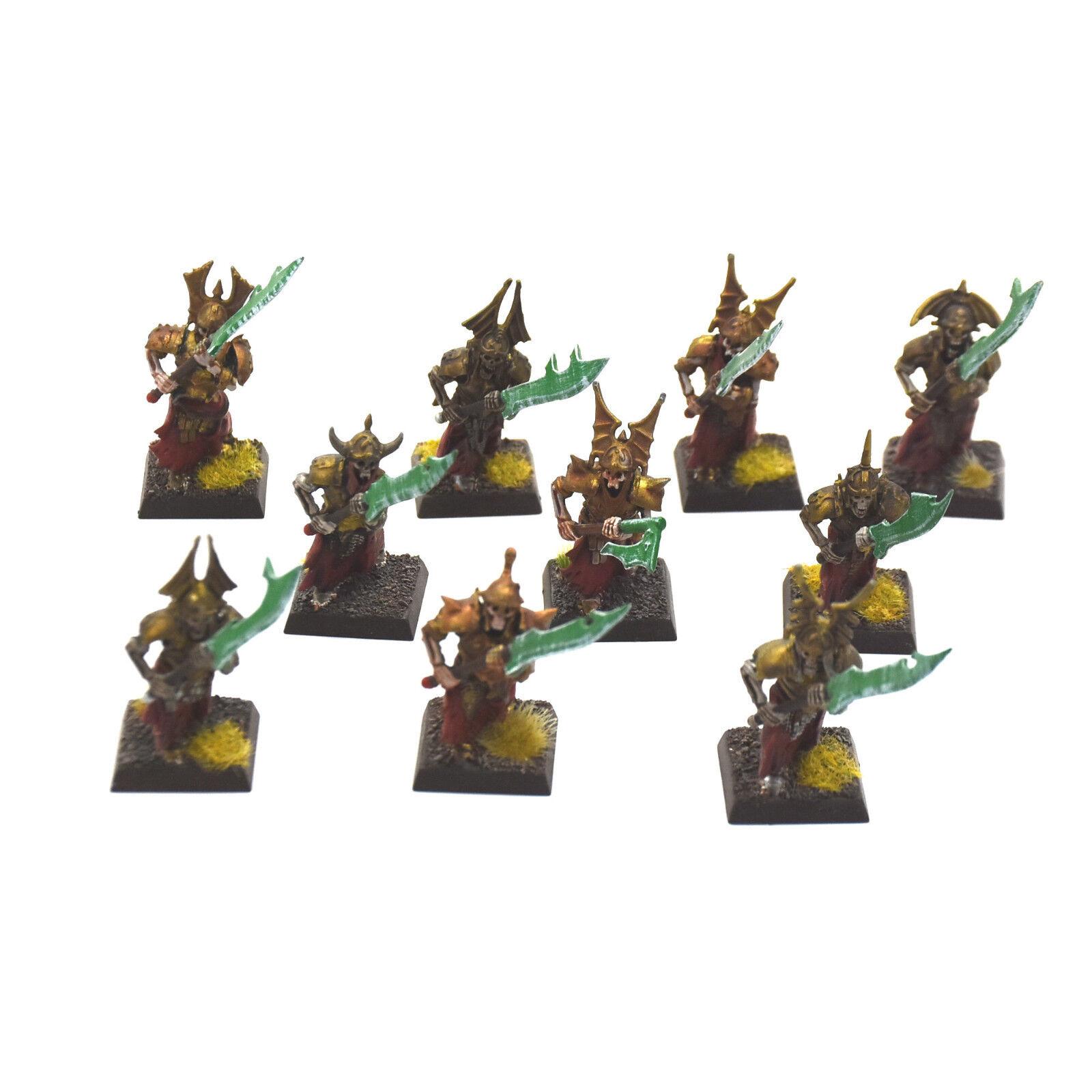 VAMPIRE COUNTS 10 Grave Guards PRO PAINTED Warhammer Fantasy Fantasy Fantasy Death guard 7c2fa7