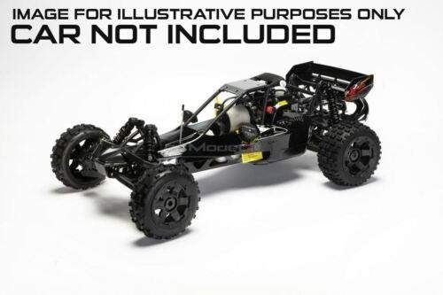 Baja carrosserie Noir Buggy Fits Baja 001 2.0 5B