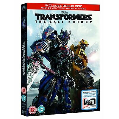 Transformers: The Last Knight  (Bonus Disc + Digital Download) [DVD]