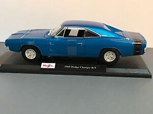 Maisto-1969-Dodge-Cargador-R-t-2020-Nueva-Version-Especial-Edition-1-18-escala-31387
