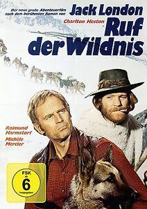 Jack-London-RUF-DER-WILDERNESS-Harmstorf-CHARLTON-HESTON-Call-Of-The-Wild-DVD