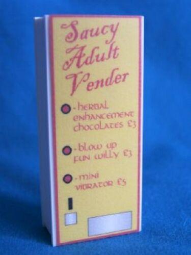 1:12 casa de muñecas en miniatura Modern Pub//Bar máquinas expendedoras 4 para elegir.