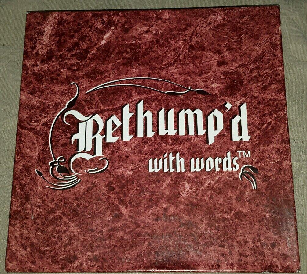 1995 Bethump'D mit Wörter Brettspiel Bildungs Mamopalire Vermont Bethumpd