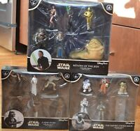 Disney Parks Exclusive Star Wars Trilogy Collectible Figures - Set Of 3 Boxes