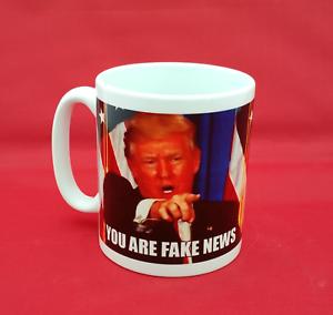 Donald Trump You Are Fake News Meme inspired 10oz mug