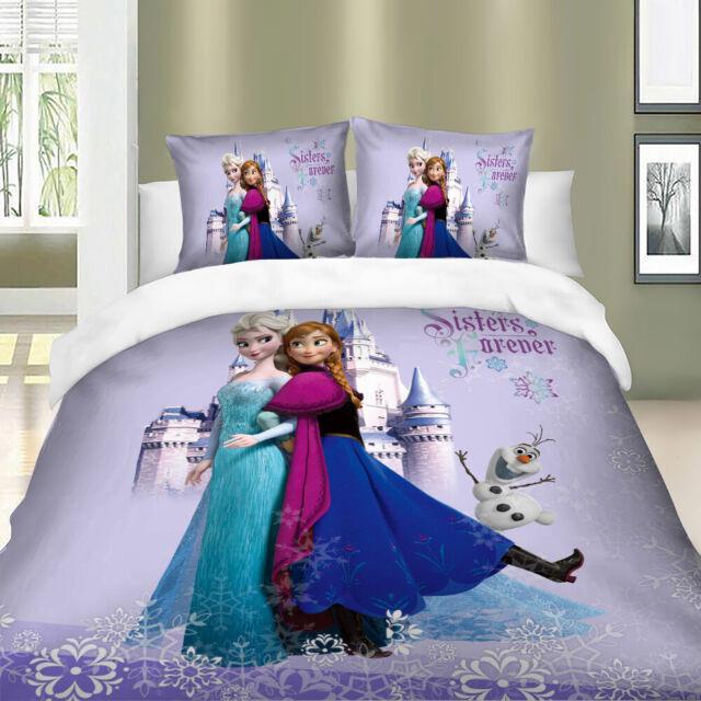 Cotton Quilt Duvet Cover Bedding Sets, Disney Bed Sheets Queen Size