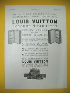 Advertising-Press-Louis-Vuitton-Luggage-Trunk-Luxe-4-Facilites-1932