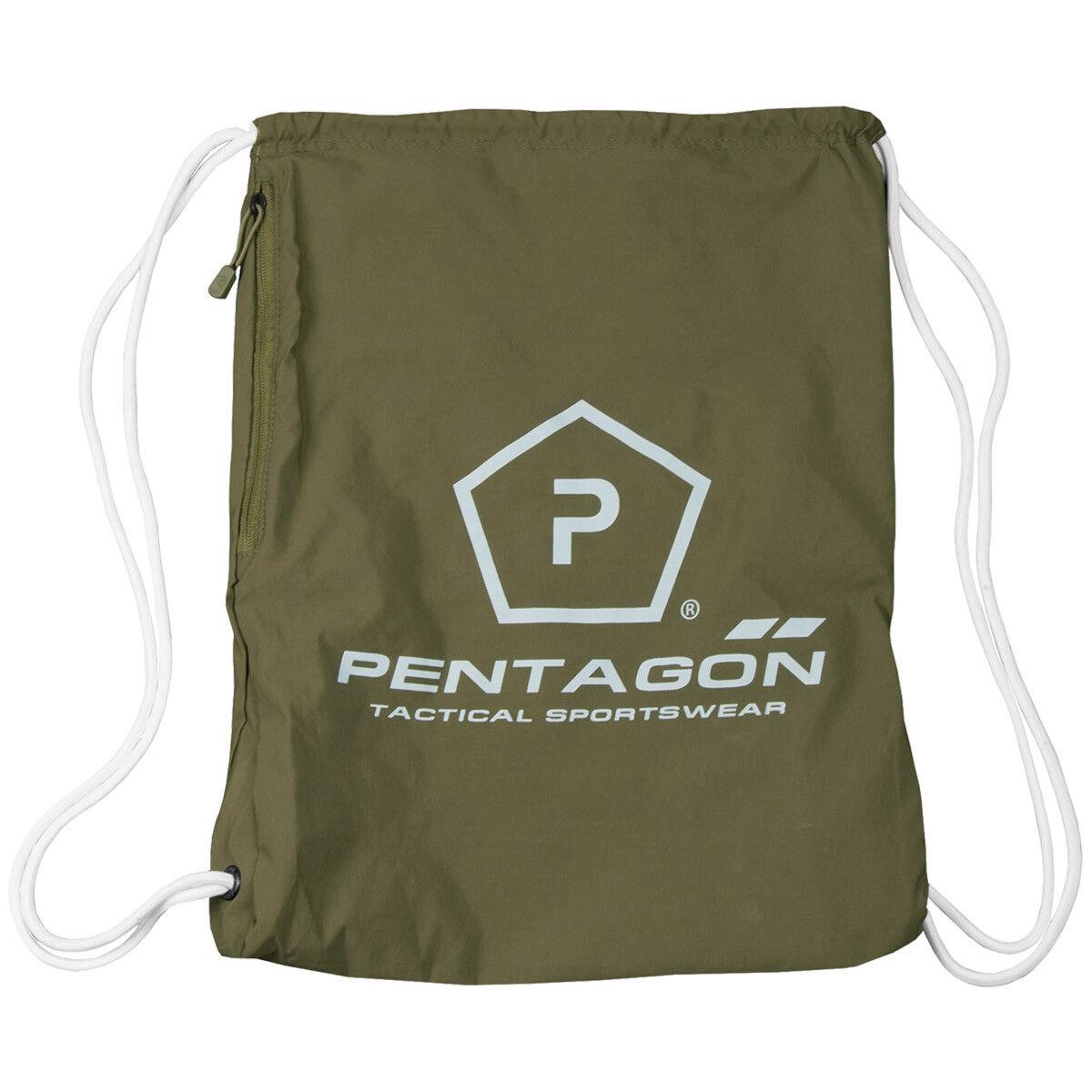 Pentagon Logo Militaire Moho Gym Sac Épaule Pack Sport Caché Caché Caché Portent Olive 4620ab