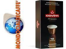 600 Capsule Cialde COVIM PRESSO' miscela OROCREMA compatibili sistema NESPRESSO