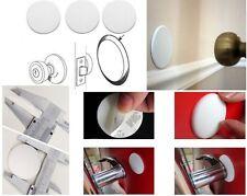 3 x Self Adhesive Wall Protectors Door Handle Bumper Guard Stopper Rubber Stop