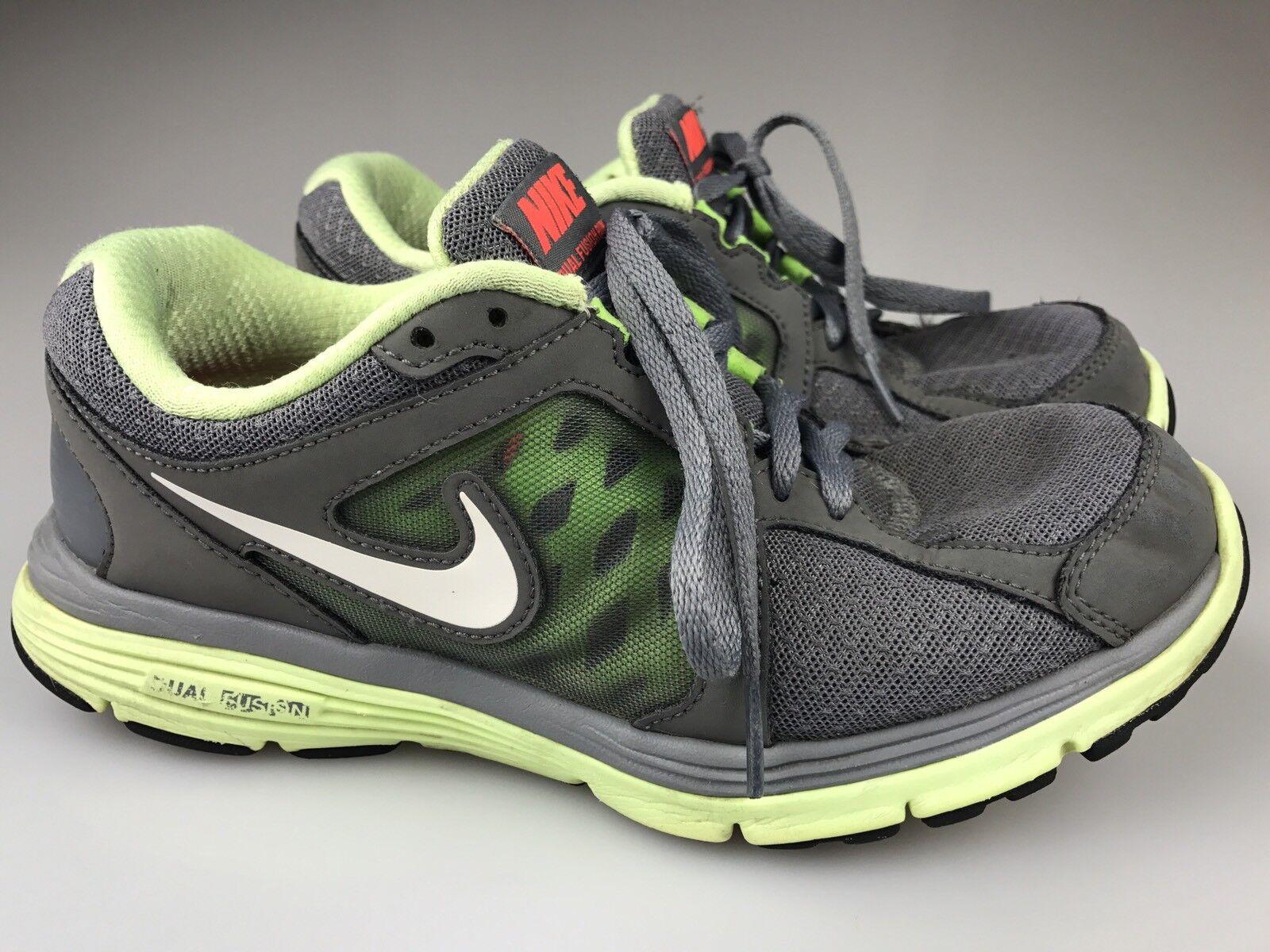 Nike doppia fusione gestito 2012 le scarpe da corsa corsa corsa giallo grigio   volt misura 7,5 525752   Buon Mercato    Sig/Sig Ra Scarpa  43ded6