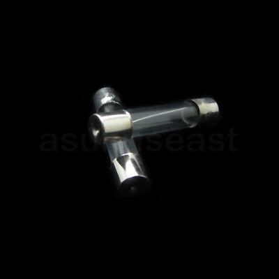 100PCS 6A 250V Quick Fast Blow Glass Tube Fuse 6x30mm F6AL250V Wholesale