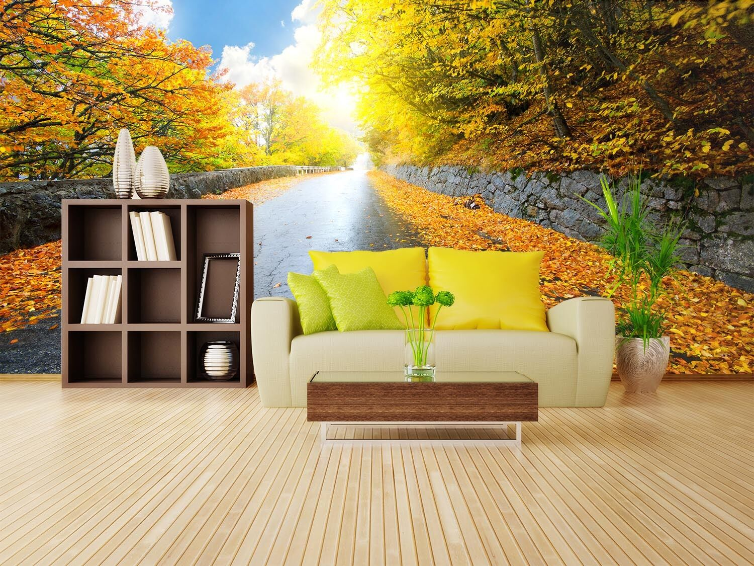 3D Moist and smooth roads 08  Wall Paper Wall Print Decal Wall Deco AJ WALLPAPER