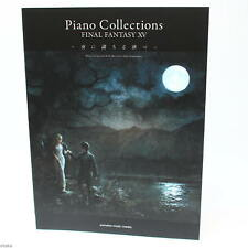 OFFICIAL Final Fantasy XV Piano Collections score book - NEW