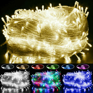 Christmas-Fairy-Lights-20-1000-LEDs-Wedding-Party-Holiday-Xmas-Tree-Decoration